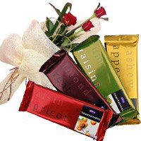 Online Chocolate Gifts With Rakhi for Brother